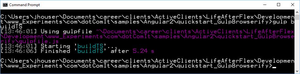Jeffry Houser S Blog Building Angular 2 Typescript