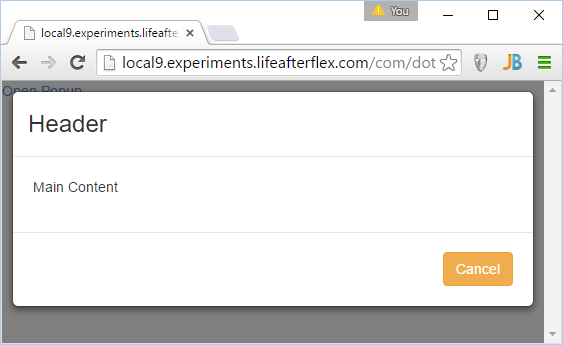 Jeffry Housers Blog Creating A Popup With Angularjs And Bootstrap